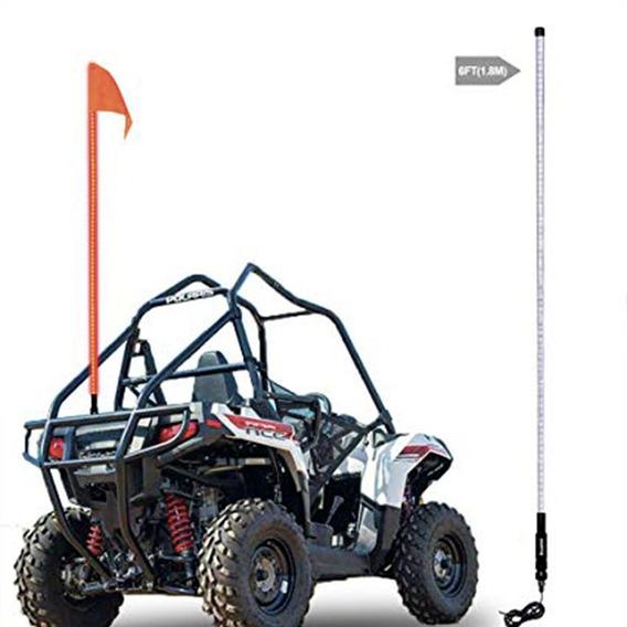 Antena Bandera Led Whip Rgb De 1.80 Mts Con Control Remoto