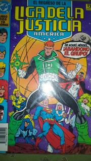 Dc Comics Liga De La Justicia America