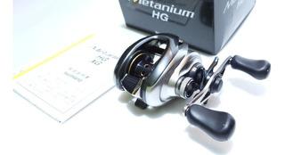 Carretilha Shimano New Metanium Hg Direita - Oportunidade