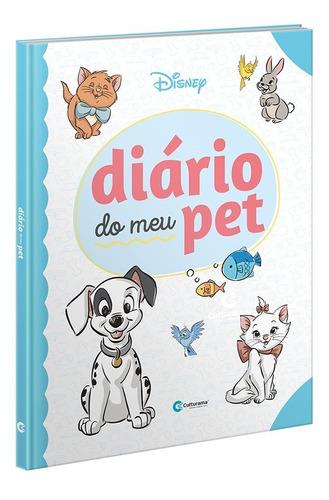 Imagem 1 de 5 de Diário Do Meu Pet Disney Baby Capa Dura Veterinário Cão Gato