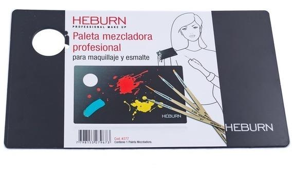 Heburn Paleta Mezcladora P/ Maquillaje Y Esmalte Cod 277