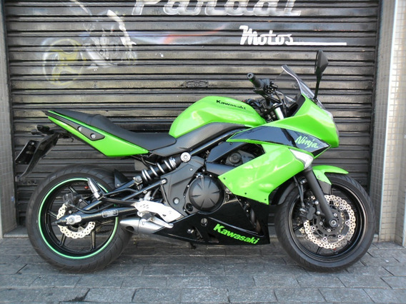 Kawasaki Ninja 650 Verde 2011