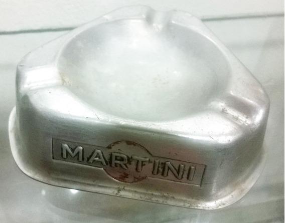 Antiguo Cenicero Coleccionable Con Propaganda De Martini