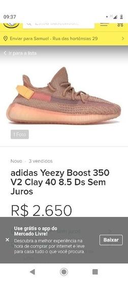 Tênis adidas Yeezi Boost 350v2 Novo
