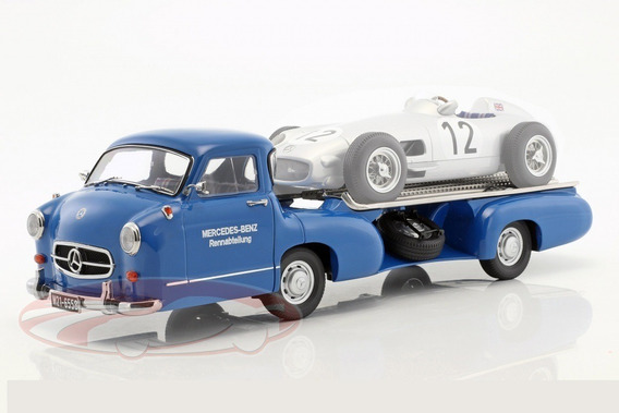 Mercedes Benz Renntransporter Camion F1 1955 Escala 1/18