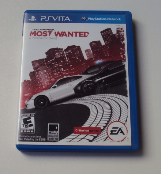 Need For Speed Most Wanted Original Para Ps Vita