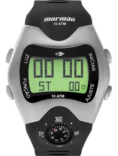 Imagem 1 de 10 de Relógio Masculino Esportivo Mormaii Digital Prova D´agua
