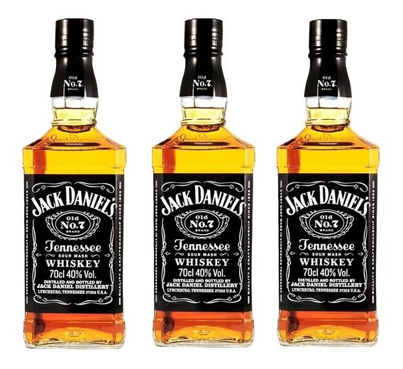 Combo 3 Pack Whisky Jack Daniel