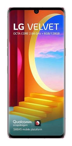 Imagem 1 de 7 de LG Velvet Dual SIM 128 GB illusion sunset 6 GB RAM