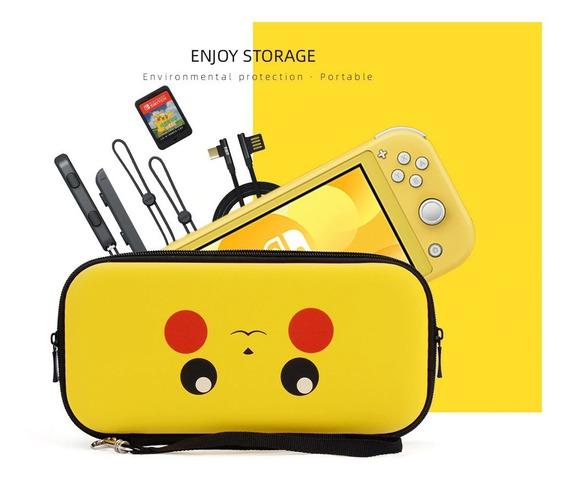 Case Nintendo Switch Lite Pokémon Pikachu + Película