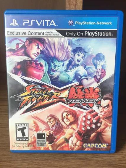 Street Fighter X Tekken - Vita - Ps Vita
