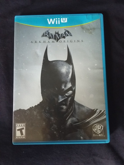 Jogo Batman Arkham Origins Para Wii U