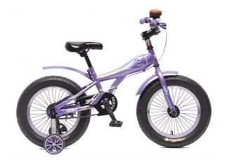 Bcicicleta Para Niños Rodado 16 Sbk Fat