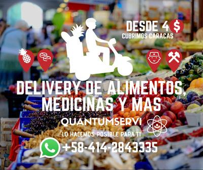 Delivery Encargos Encomiendas De Alimentos Y Medicinas Ccs