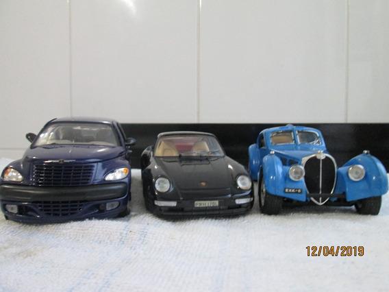Miniatura Lote 1\24 Burago Saico Pt Cruiser Porsche Bugatti