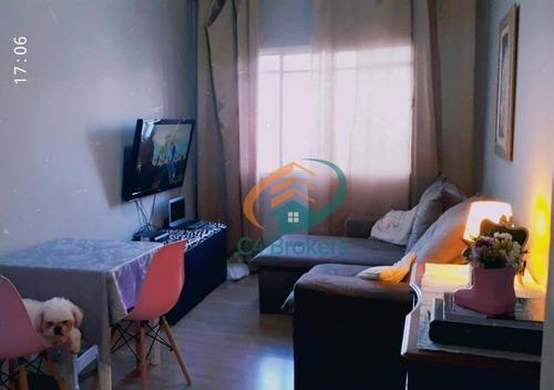 Imagem 1 de 21 de Apartamento Com 2 Dormitórios À Venda, 64 M² Por R$ 225.000,00 - Jardim Testae - Guarulhos/sp - Ap2259