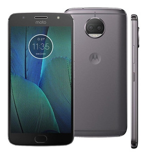 Smartphone Motorola Moto G5s Plus 32g Xt1802 Lacrado Platinu