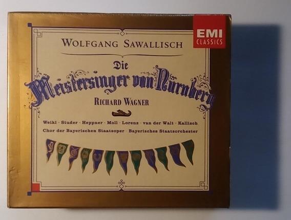Wagner Box Imp 4 Cds Meistersinger Von Nürnb 1994 Sawallisch