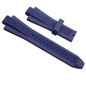 Pulseira Michael Kors De Silicone Azul Escuro Mk8081
