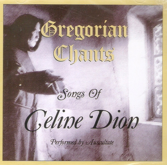 Cd Gregorian Chants - Songs Of Celine Dion - Novo Lacrado***