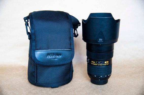 Lente Nikon 24-70mm 2.8 Ed Nanocrystal