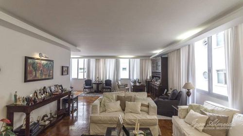 Apartamento À Venda, 300 M² Por R$ 2.800.000,00 - Higienópolis - São Paulo/sp - Ap36831
