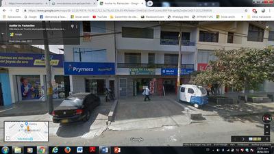 Se Alquila Casa Para Banco-financiera En Vmt Zona Comercial