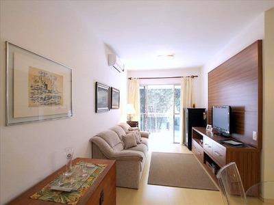 Flat Em Vila Nova Conceiçao, São Paulo/sp De 65m² 2 Quartos Para Locação R$ 5.300,00/mes - Fl189331