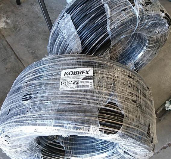 50mts Cable Multip Alum Distr Aérea Neutranel 1+1 Cal 6 Awg