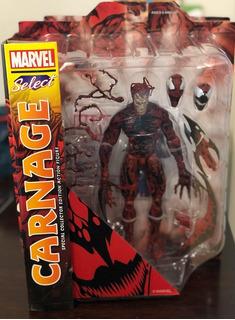 Carnage Figura Marvel Select 20 Cm De Alto