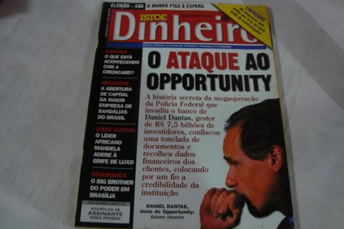 Revista Isto É Dinheiro 374 / Daniel Dantas Opportunity
