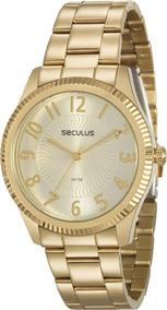 Relógio Feminino Seculus 20568lpsvds1, C/ Garantia E Nf