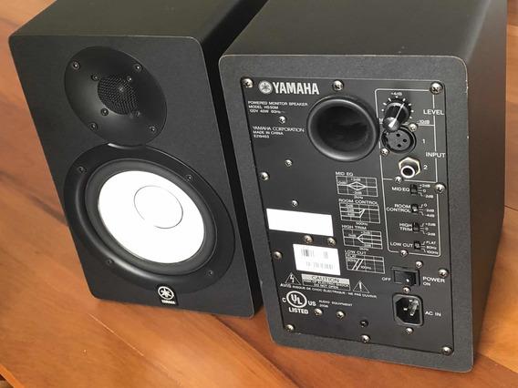 Monitores De Áudio Yamaha Hs50m Ativo - Par