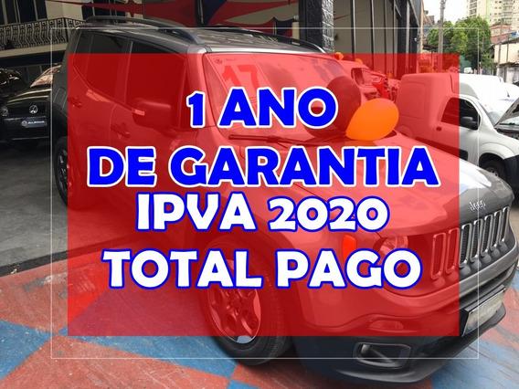 Jeep Renegade 1.8 (aut) (flex) 1 Ano De Garantia