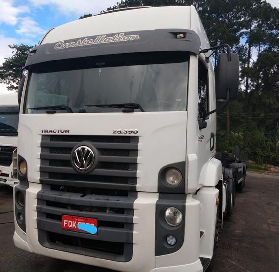 Volkswagen 25.390 Com Carreta