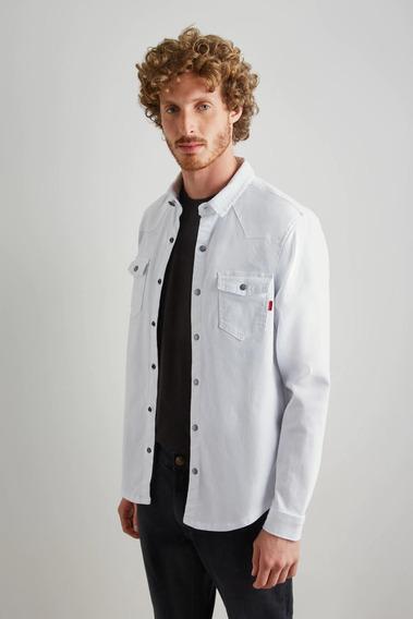Overshirt Tec Sempre Branco Reserva