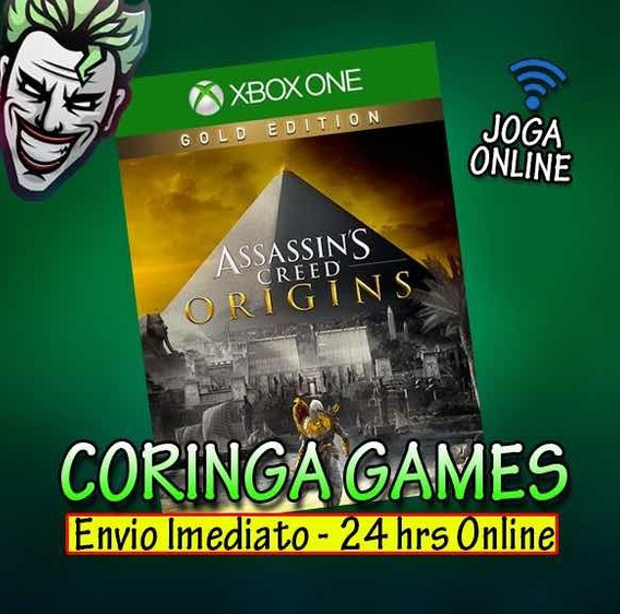 Assassins Creed Origins Gold Xbox One Mídia Digital + 2 Jogo