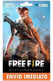 Free Fire 1080 Diamantes Recarga P/ Conta