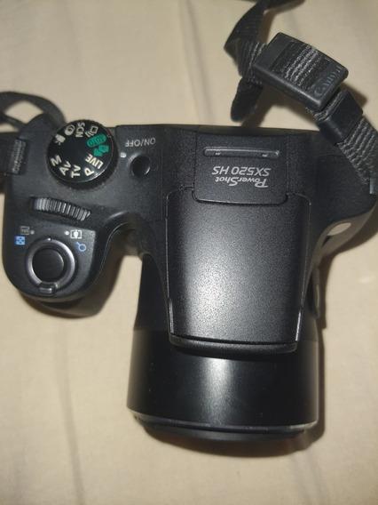 Câmera Canon Power Shot Sx502hs Sem Arranhados