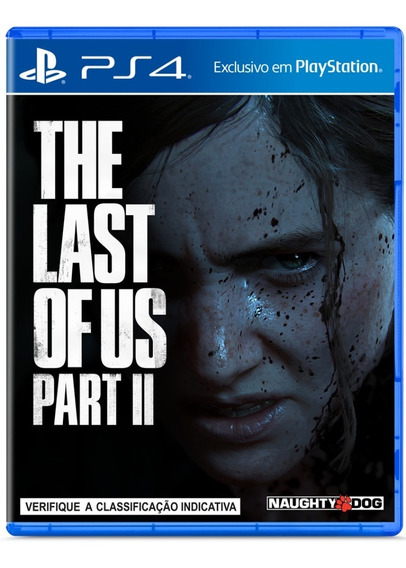 The Last Of Us Part Ii Parte 2 Ps4 Mídia Física