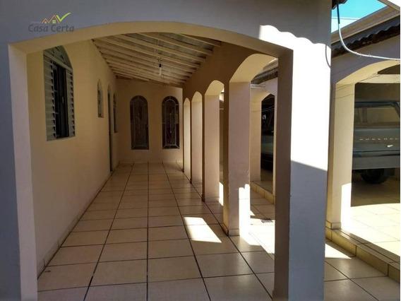 Casa Com 2 Dormitórios Para Alugar, 70 M² Por R$ 800,00/mês - Parque Cidade Nova - Mogi Guaçu/sp - Ca0330