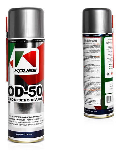Oleo Lubrificante Desengripante Multiuso 300ml
