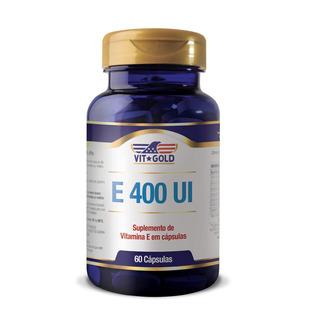 Vitamina E 400ui Vitgold 60 Caps