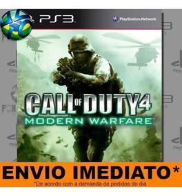 Jogo Ps3 Call Of Duty 4 Modern Warfare Com Dlc Psn Play 3