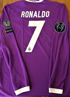 Camisa Do Real Madrid Final Champions League 2017 Ronaldo