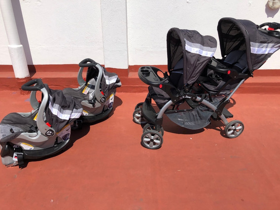 Cochecito Bebé - Baby Trend Sit N Stand Double Stroller