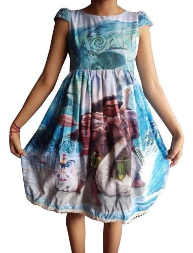 Imagen 1 de 3 de Vestidos Moana Bebe - Ig