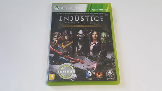 Injustice Gods Among Us Ultimate Edition - Xbox360- Original