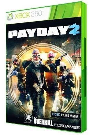 Pay Day 2 Xbox 360 Midia Fisica Em Portugues Novo Lacrado