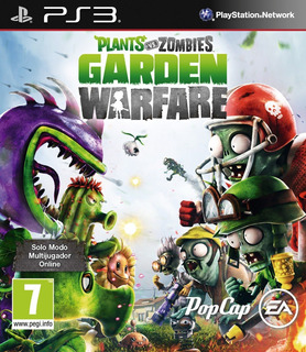 Plants Vs Zombies Garden Warfare Ps3 Español Digital Hoy!!